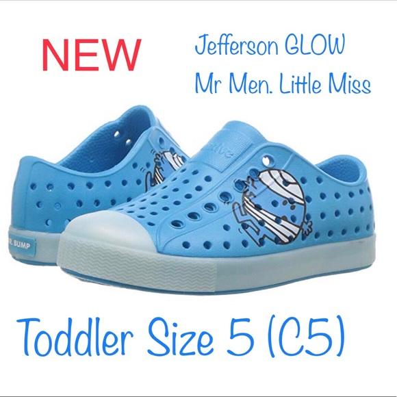 Nwb Native Shoes Jefferson Glow Toddler